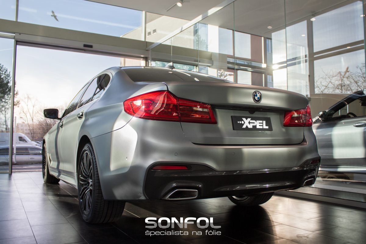 XPEL STEALTH BMW 5 G30 (Matná ochranná fólia)